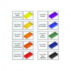 LYSOL Coloranti in polvere per la resina trasparente. Flaconi 6 ml.