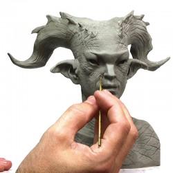 Come fare un oggetto o una statua in Plastilina (Master originale) e farne più copie di altro materiale