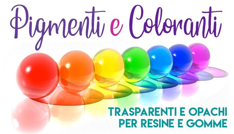 Pigmenti e Coloranti per resine e gomme